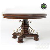 round classic table(3ddanlod.ir)