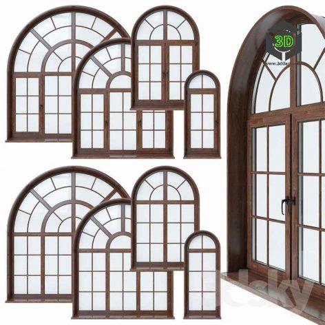 Arched Window(3ddanlod.ir) 031