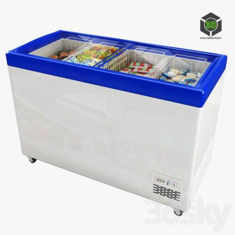 Ice Cream Freezer Polair Standard 3d model 001 (3ddanlod.ir)