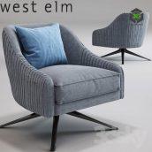 Roar Rabbit Swivel Chair 001 (3ddanlod.ir)