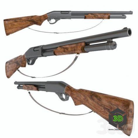 Shotgun M870(3ddanlod.ir)