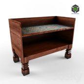 side table Moroccan 001 (3ddanlod.ir)