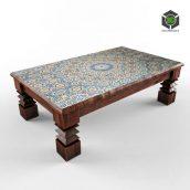 cofee table Moroccan 001 (3ddanlod.ir)