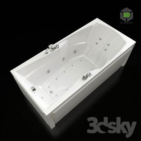 Acrylic Hot tub Doctor Jet Fortunata(3ddanlod.ir) 504