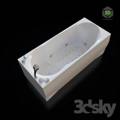 Acrylic Hydromassage Bath Doctor Jet Prima C(3ddanlod.ir) 680