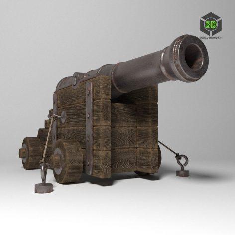 Ancient Gun(3ddanlod.ir) 2258