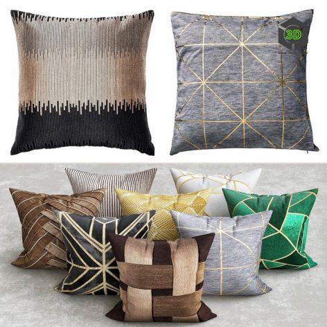 Art Deco Pillows(3ddanlod.ir) 2304