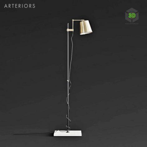 Arteriors Watson Floor Lamp(3ddanlod.ir) 1867