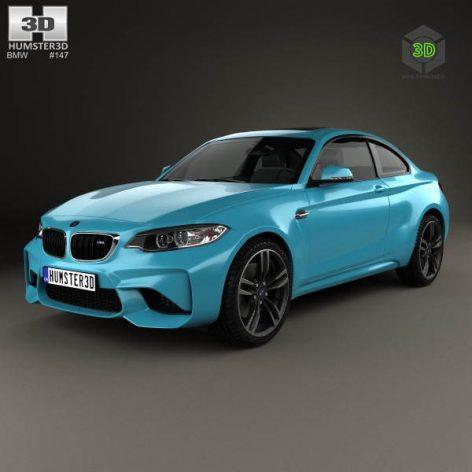 BMW M2 Coupe 2016(3ddanlod.ir) 1892