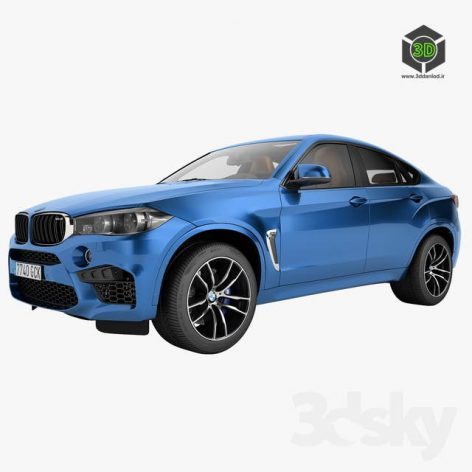 BMW X6M 2015(3ddanlod.ir) 1005