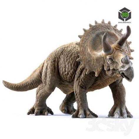 Best Model of The Week Triceratops(3ddanlod.ir) 324