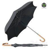 Black Classic Umbrella(3ddanlod.ir) 446