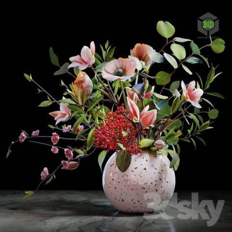 Bouquet 04(3ddanlod.ir) 1793