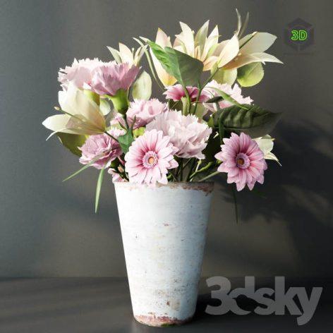 Bouquet of Flowers 4(3ddanlod.ir) 864