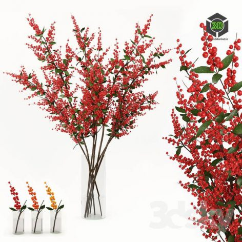 Branches in the Vase 004(3ddanlod.ir) 1126