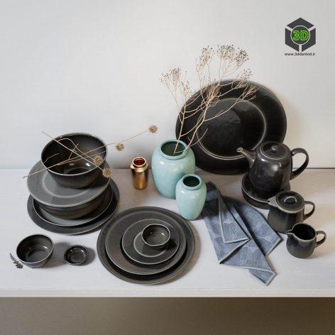 Broste Copenhagen Nordic Coal Ceramics(3ddanlod.ir) 2157