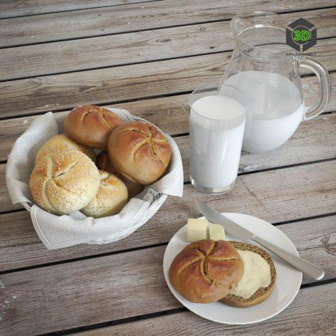 Buns & Milk(3ddanlod.ir) 035