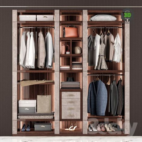 Capital Collection Wardrobe Venere(3ddanlod.ir) 874