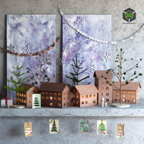 Christmas Decor(3ddanlod.ir) 420