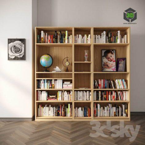 Classic Book Shelf YK2(3ddanlod.ir) 903