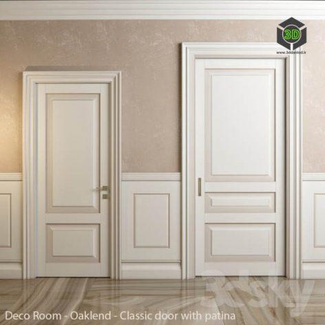 Classic Doors and Panels Deco Room Oaklend(3ddanlod.ir) 156