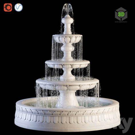 Classic Fountain(3ddanlod.ir) 538