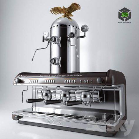 Coffee Machine LA CIMBALI with Cappuccinator(3ddanlod.ir) 133