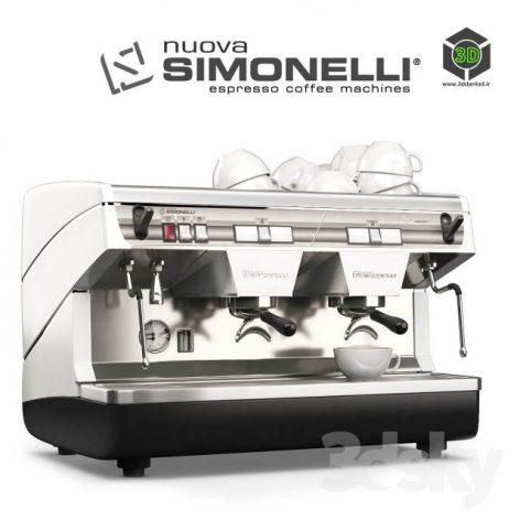 Coffee Machine Simonelli Appia 2(3ddanlod.ir) 586