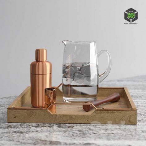 Copper Shaker Set(3ddanlod.ir) 202