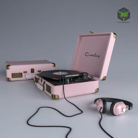 Crosley Vinyl Player(3ddanlod.ir) 2279