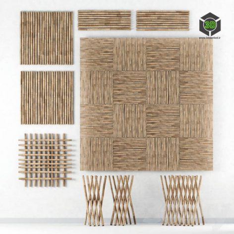 Decor of bamboo collection (max 2011 Vray) 3d model (3ddanlod.ir) 144