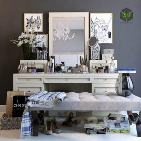 Decorative Set Dresser 4(3ddanlod.ir) 389