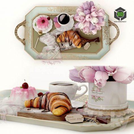Decorative Set Have a Nice Day(3ddanlod.ir) 1015