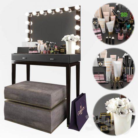Decorative Set for Dressing Table 1(3ddanlod.ir) 978