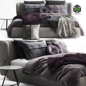 Ditre Italia Claire Bed(3ddanlod.ir) 2145