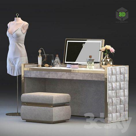 Dressing Table Vissionaire Titania(3ddanlod.ir) 1365