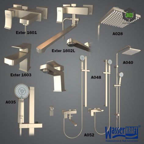 Faucets Exter Series 1600(3ddanlod.ir) 029