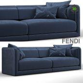Fendi Casa Conrad Maxi Sofa Blue (max 2011, obj) (3ddanlod.ir) 192