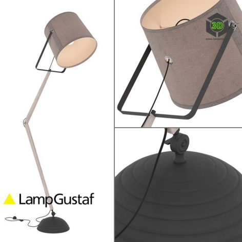 Floor lamp LampGustaf Legend 3d Model (3ddanlod.ir) 213