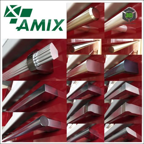 Furniture handles the firm AMIX (max 2010, fbx) (3ddanlod.ir) 284