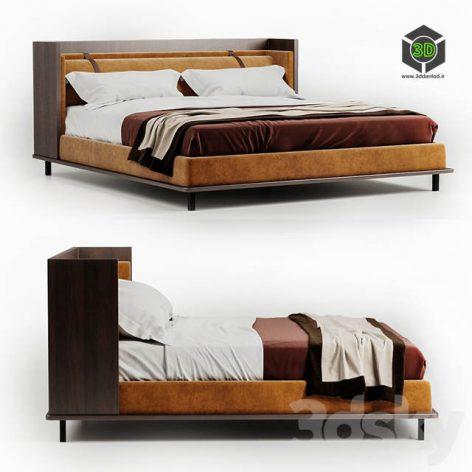 Modern bed Twelve AM by Molteni 001 (3ddanlod.ir)