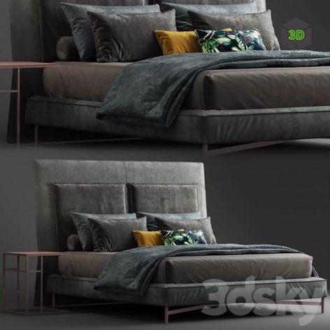 Moderrn bed SP2802 1 by Twils 001 (3ddanlod.ir)