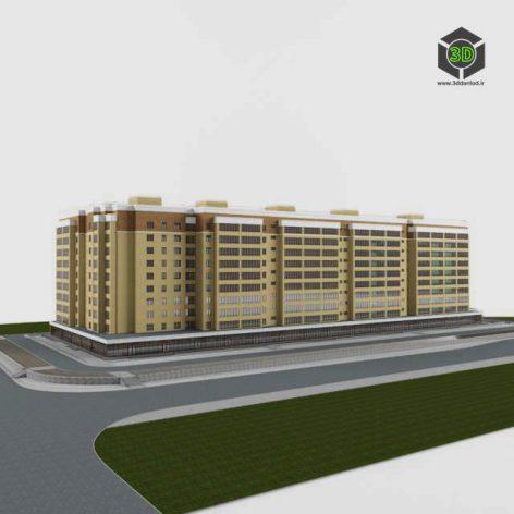 Residential ten-storey house (3ddanlod.ir) 011