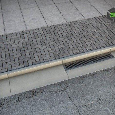 Sidewalk road (max, fbx) 3D model (3ddanlod.ir) 105