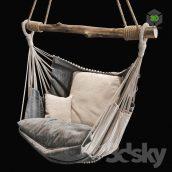 Suspended chair 2 3D model (3ddanlod.ir) (2)