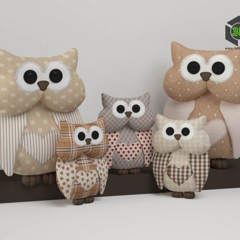 Toy Owl (3ddanlod.ir) 003