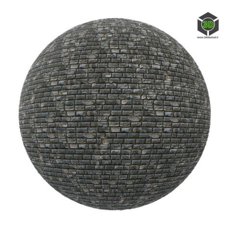 black_stone_brick_wall_render (3ddanlod.ir)
