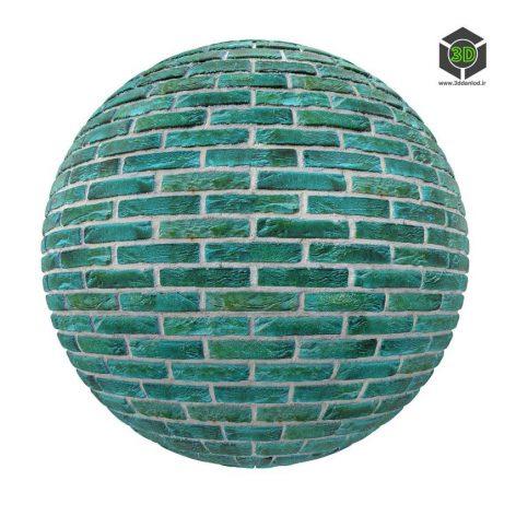 green_brick_wall_render (3ddanlod.ir)