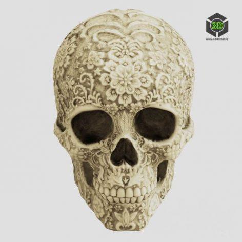 skull statue (3ddanlod.ir) 014