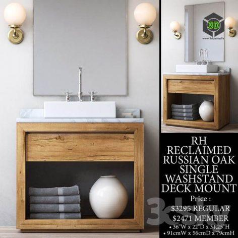wooden washbasin (3ddanlod.ir) 037